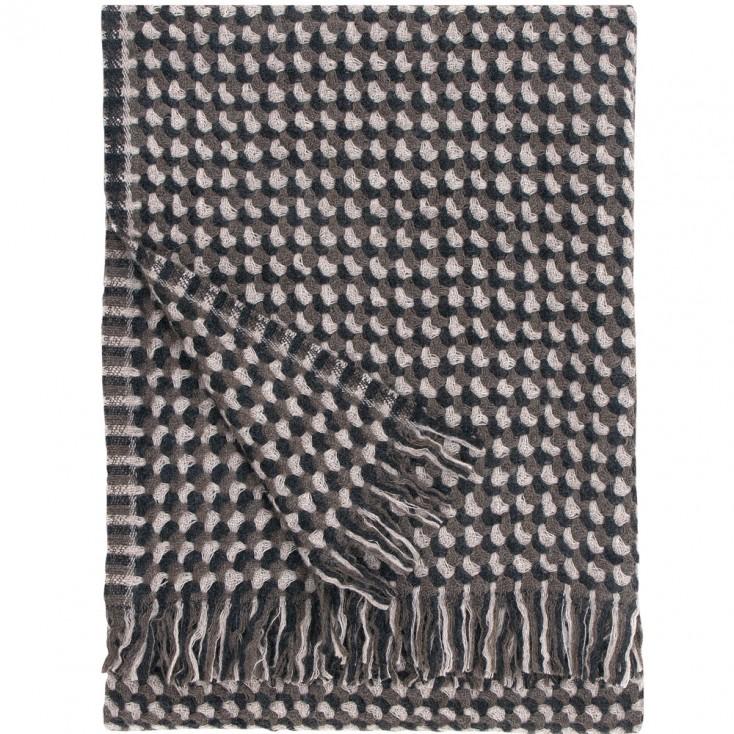 Lapuan Kankurit Brown Alva Blanket