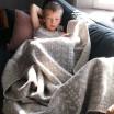 Lapuan Kankurit Beige Kuura Blanket
