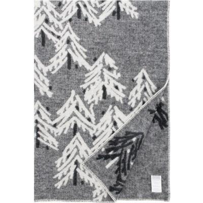 Lapuan Kankurit Charcoal Kuusi Blanket
