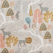 Scandinavian Fabric - Spira Sagoskog Mustard