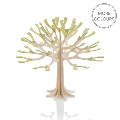Lovi Mini Birch Ply Season Tree - Green