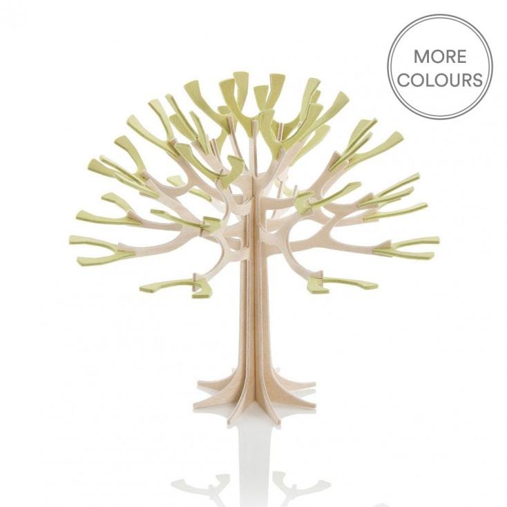 Lovi Mini Birch Ply Season Tree - Green