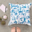 Kauniste Mokkila Blue Cushion