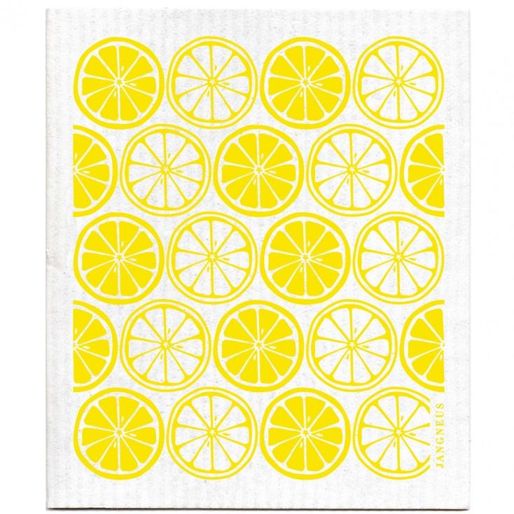 Jangneus Yellow Citrus Dishcloth