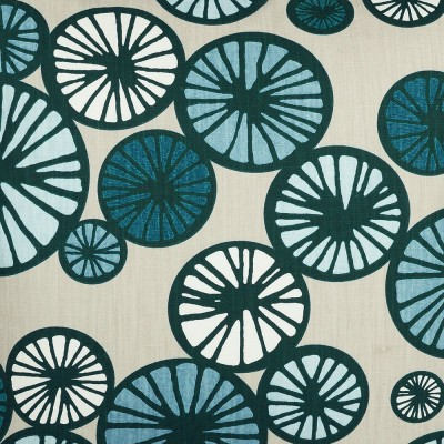 Scandinavian Fabric - Spira Taro Blue