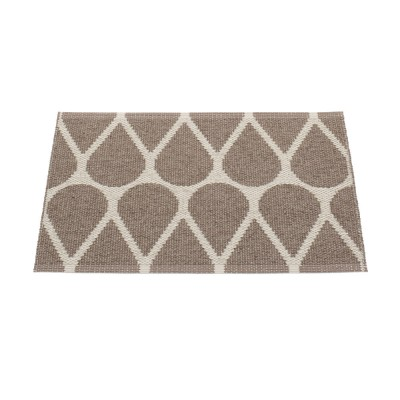 Pappelina Otis Small Mat - Dark Mud