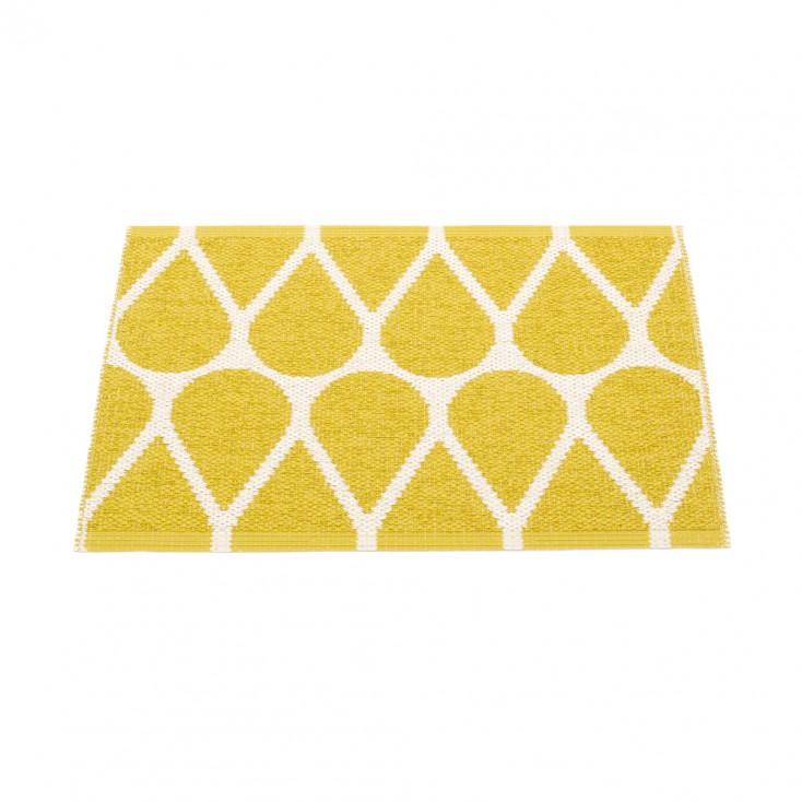 Pappelina Otis Small Mat - Mustard