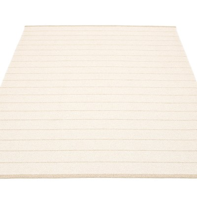 Pappelina Carl Large Rug - Vanilla Side 180 x 260 cm