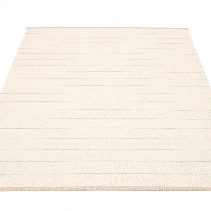 Pappelina Carl Large Rug - Vanilla Side 180 x 260 cm
