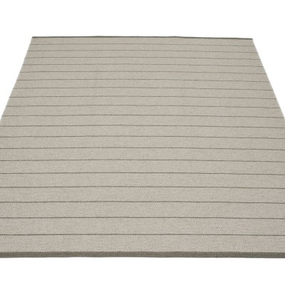 Pappelina Carl Large Rug - Warm Grey