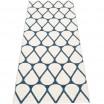 Pappelina Otis Runner - Ocean Blue & Vanilla - 70 x 200 cm Reverse