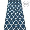 Pappelina Otis Runner - Ocean Blue & Vanilla - 70 x 200 cm