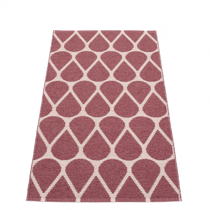 Pappelina Otis Runner - Rose Taupe & Pale Rose 70 x 140 cm