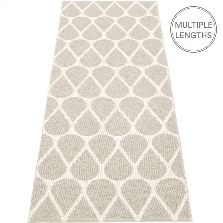 Pappelina Otis Runner - Linen & Vanilla 70 x 200 cm
