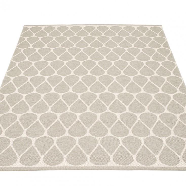 Pappelina Dana Large Rug - Linen & Vanilla 180 x 275 cm