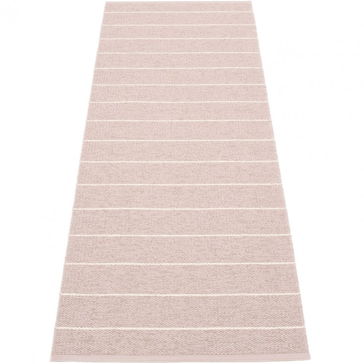 Pappelina Carl Runner - Pale Rose Side 70 x 180 cm