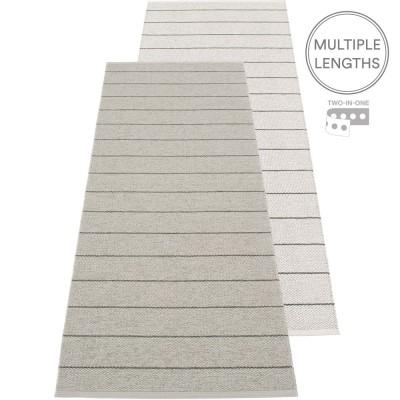 Pappelina Carl Runner - Warm Grey 70 x 180 cm