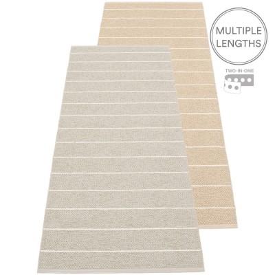 Pappelina Carl Runner - Linen & Beige 70 x 180 cm