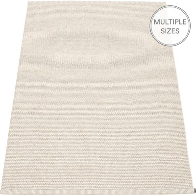Pappelina Mono Linen : Vanilla Large Rug