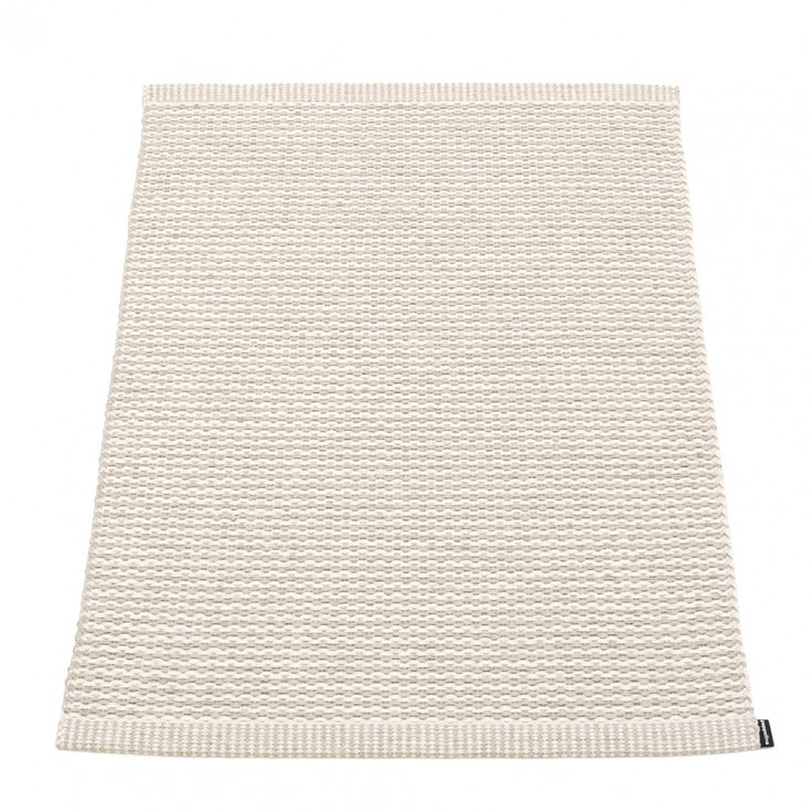 Pappelina Mono Linen : Vanilla Small Mat - 60 x 85 cm