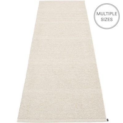 Pappelina Mono Linen : Vanilla Runner - 85 x 260 cm