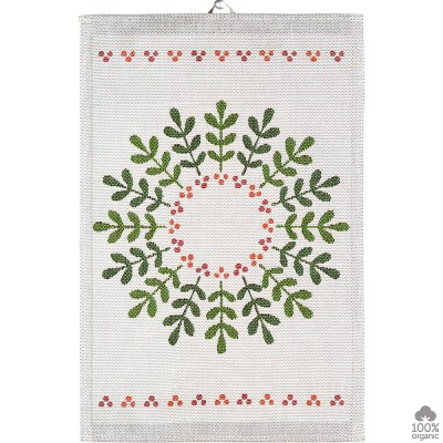 Ekelund Lingonkrans Kitchen Towel