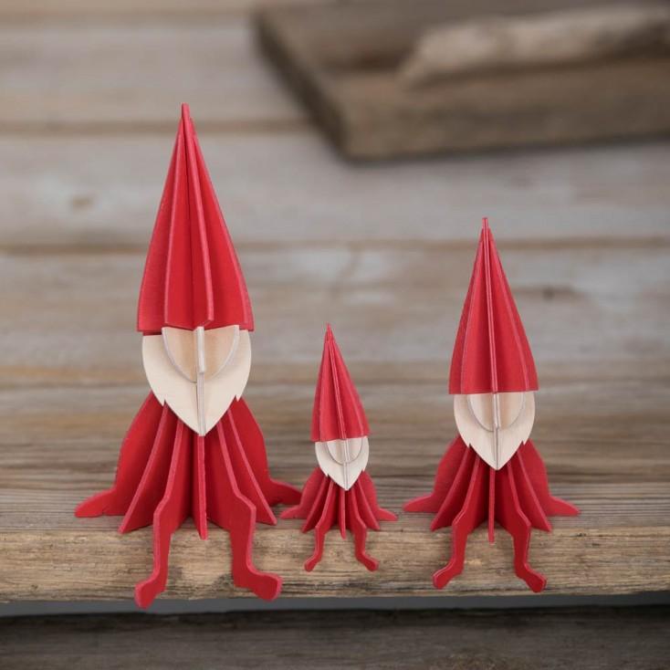 Lovi Birch Ply Elf - Red