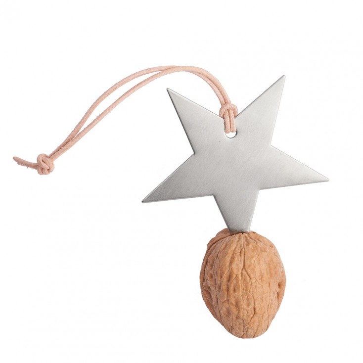 Star Walnut Key