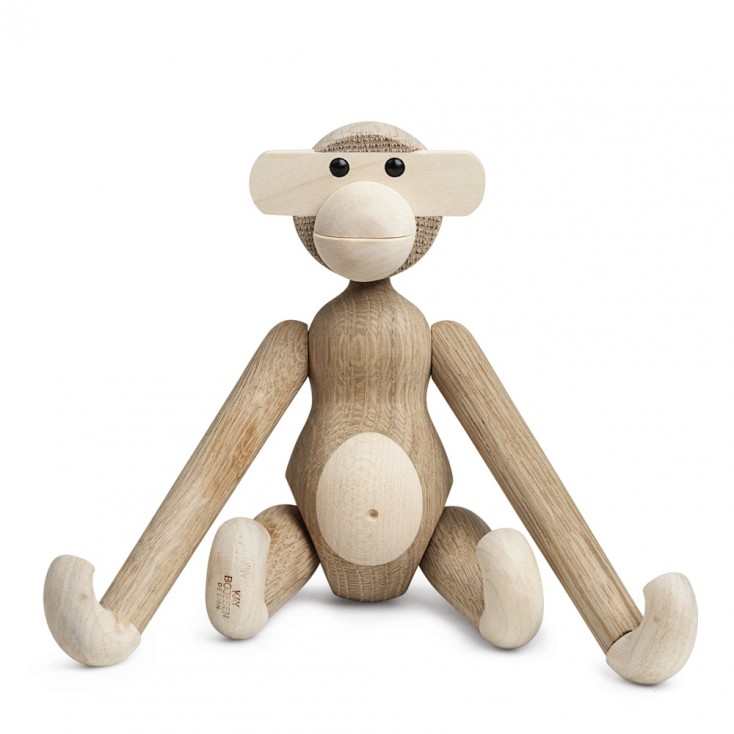 Kay Bojesen Monkey By Rosendahl - Oak