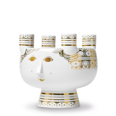 Bjorn Wiinblad Saint Lucy Advent Candleholder - Gold
