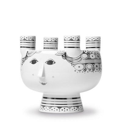 Bjorn Wiinblad Saint Lucy Advent Candleholder - Silver