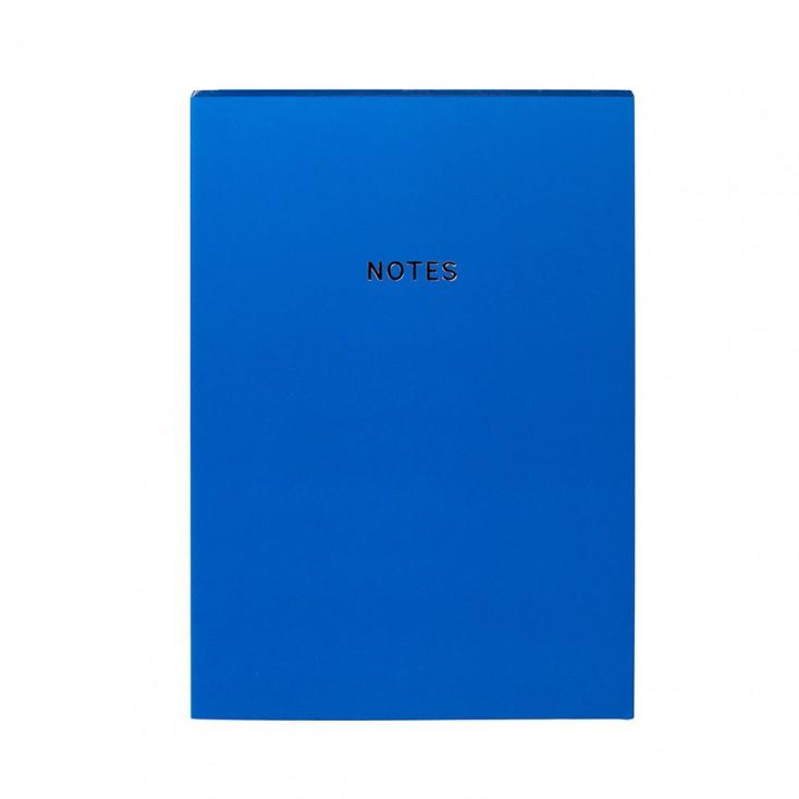 Colourblock A5 Notebook - Royal Blue