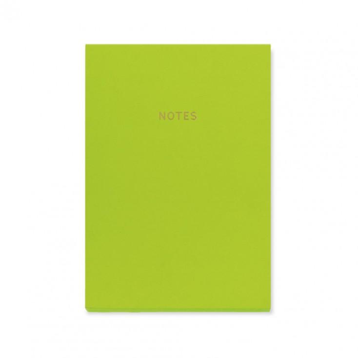 Colourblock A5 Notebook - Lime