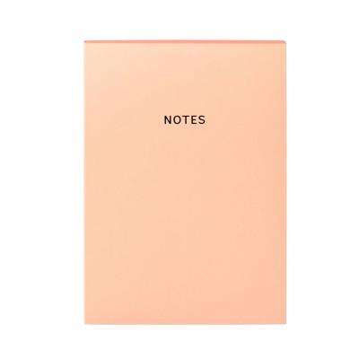 Colourblock A5 Notebook - Coral