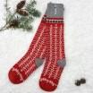 Öjbro Swedish Wool Socks - Ekshärad Red