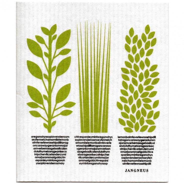 Jangneus Dishcloth - Green Herbs