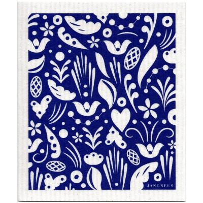 Jangneus Blue Dala Dishcloth