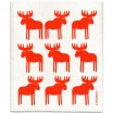 Jangneus Orange Moose Dishcloth