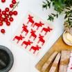 Jangneus Red Moose Dishcloth