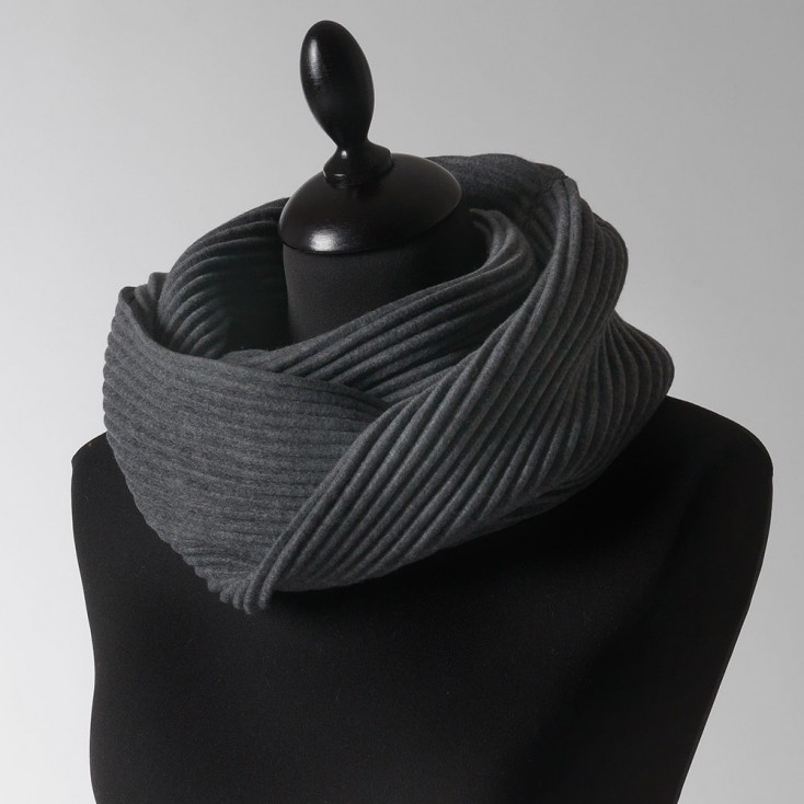 Design House Stockholm Pleece Snood - Dark Grey