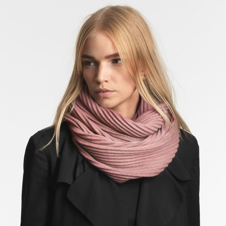 Design House Stockholm Pleece Snood - Pink