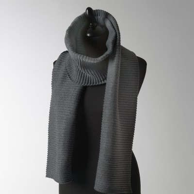 Design House Stockholm Long Pleece Scarf - Dark Grey