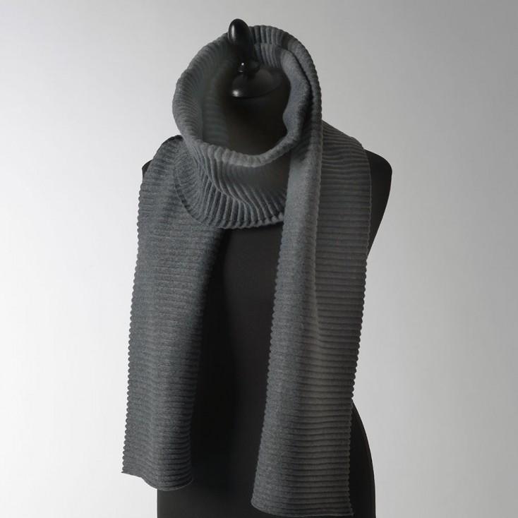 Design House Stockholm Long Pleece Scarf - Dark Grey