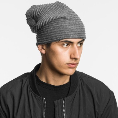 Design House Stockholm Pleece Beanie Hat - Dark Grey