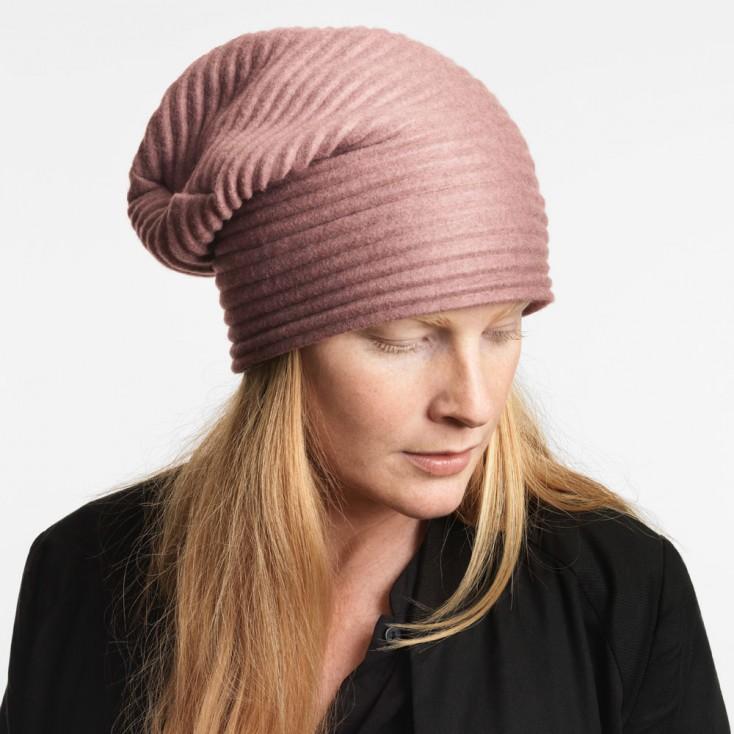 Design House Stockholm Pleece Beanie Hat - Pink