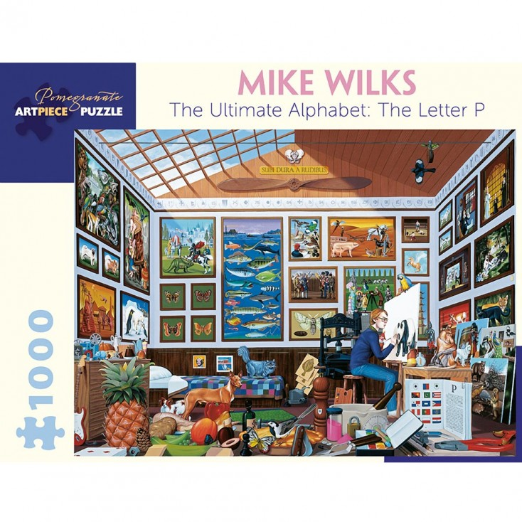 Mike Wilks The Ultimate Alphabet : The Letter P Jigsaw