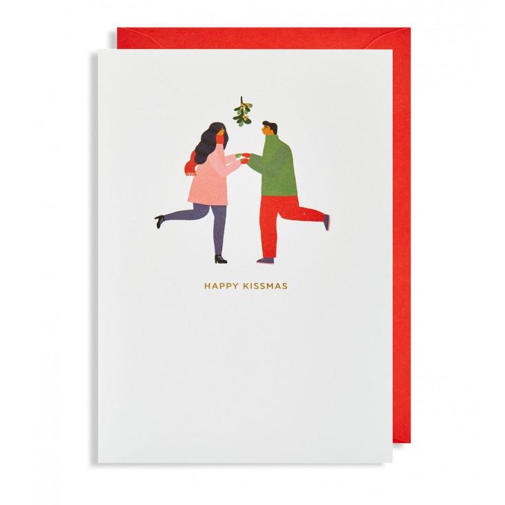 Under The Mistletoe Christmas Cards - Pack of 5