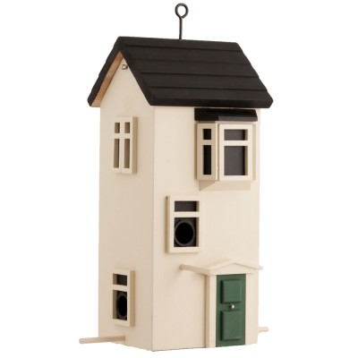 Wildlife Garden Swedish Bird House & Feeder