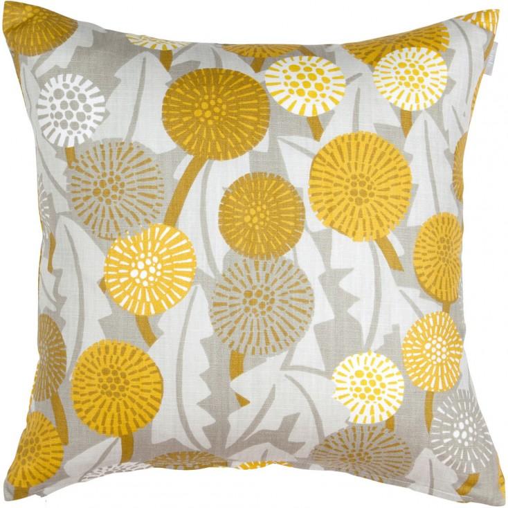 spira of sweden maskros yellow cushion hus hem. Black Bedroom Furniture Sets. Home Design Ideas
