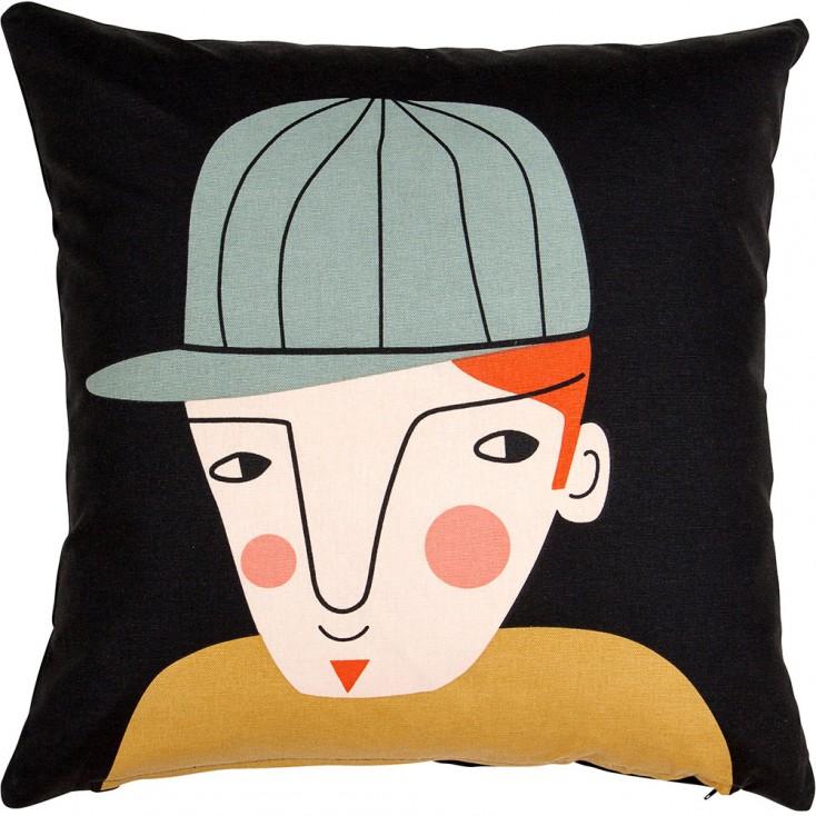Spira Face Cushion Cover - Tim